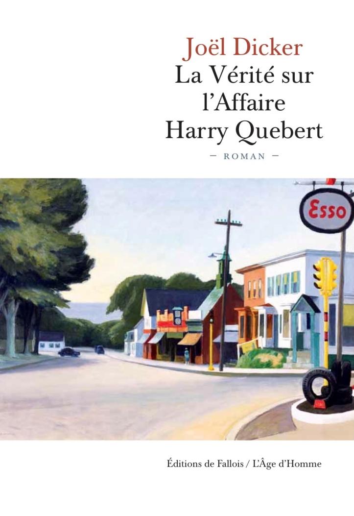 La Vérité sur l'affaire Harry Quebert - Couverture Livre